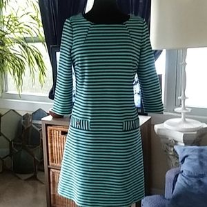 Lilly Pulitzer Charlene striped dress sz L